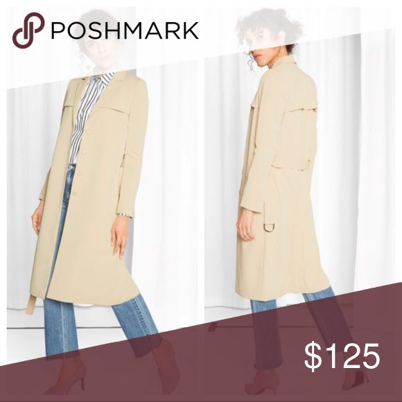And Other Stories Beige Trench Coat.  Brand new. Brand new with tags.  Item is still full price on the website.  I will not trade or negotiate.  Just hit buy if you would like to purchase. & other stories Jackets & Coats Trench Coats