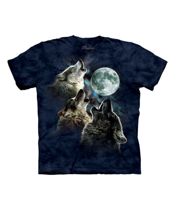 Another great find on #zulily! The Mountain | Blue Three Wolf Moon by The Mountain #zulilyfinds