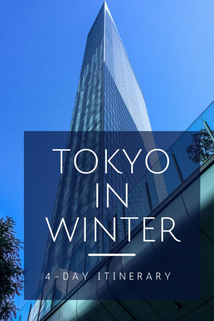 4-Day Tokyo Itinerary: What do to with four days in Tokyo in winter!