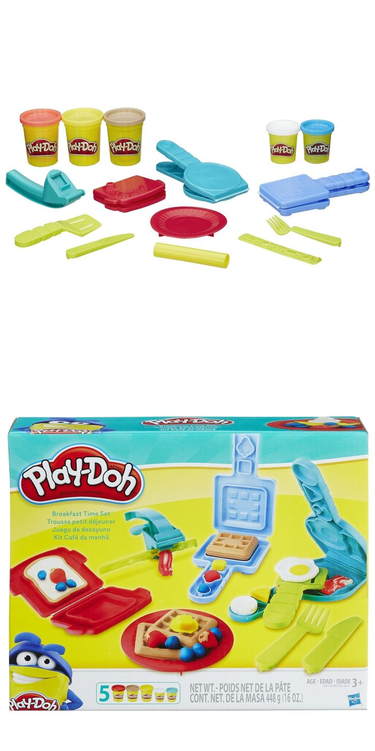 Play-Doh Modeling Clay 11740: Play Doh Breakfast Time Set Small Playset Playdough Toys Kids Fun Factory Craft -> BUY IT NOW ONLY: $51.72 on eBay!