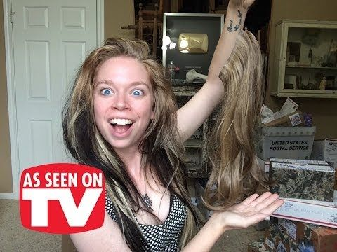 SECRET EXTENSIONS - DOES THIS THING REALLY WORK? - YouTube this girl is hilarious
