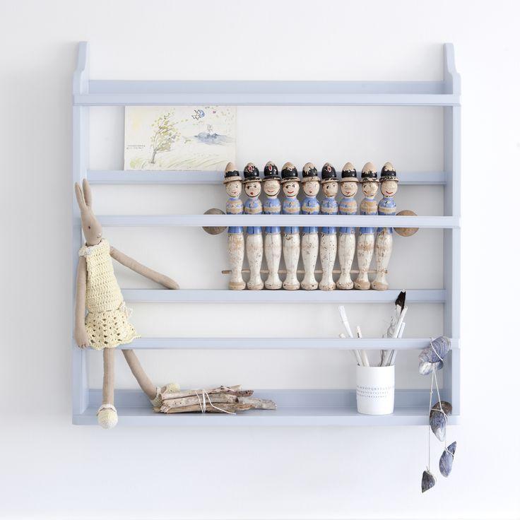 Plate rack, grey - Oliver Furniture Denmark.   www.oliverfurniture.com