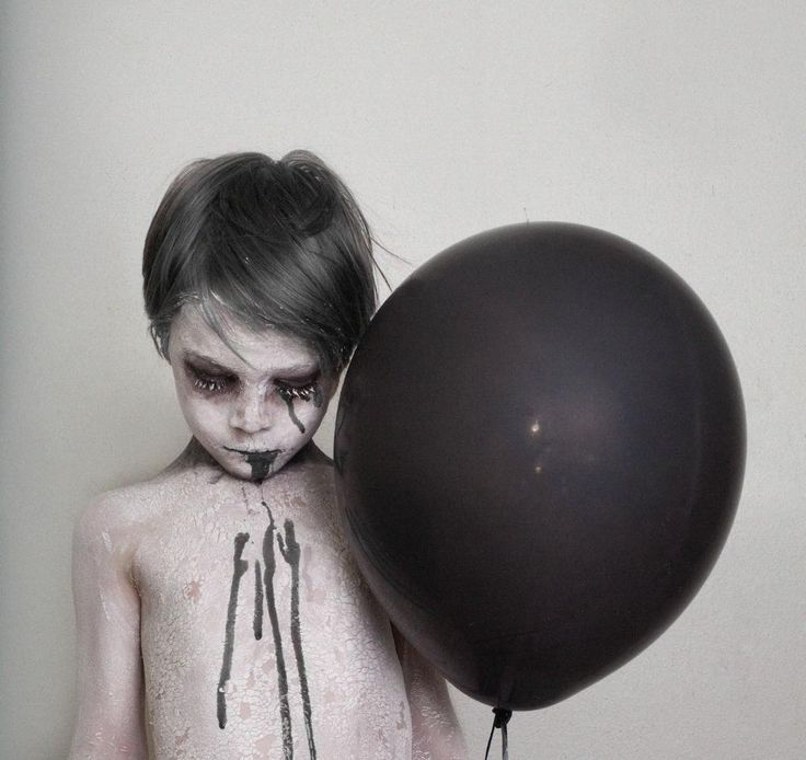 "Photographer Brittany Bentine has been creating macabre photoshoots for children for years now. Other parents have called her work ""sick"" and ""disturbing,"" but for Bentine, it's just plain fun."