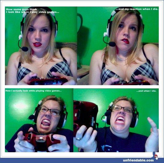 Tumblr - Gamer gurls vs girl gamers