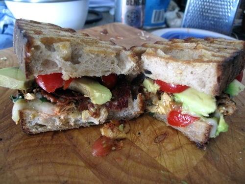 SATURDAY SANDWICH_ Chicken, Bacon, Avocado, Gruyere, Tomato, Roasted ...