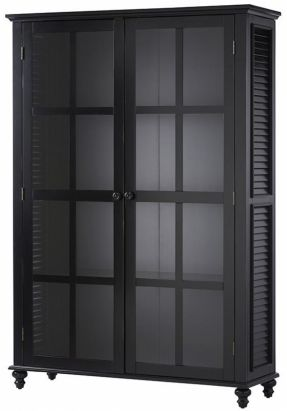 Shutter Glass Door Bookcase - Office Accessories - Home Office - Furniture |