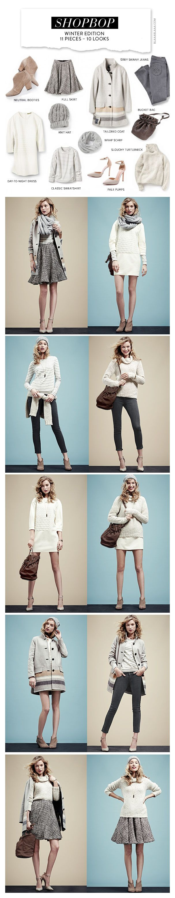 Shopbop Winter Edition 11 Pieces – 10 Looks