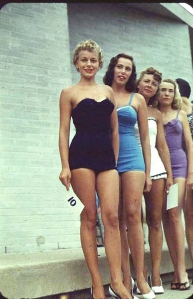 1950s bathing suits