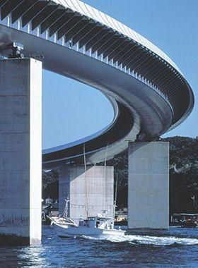 Renzo Piano Building Workshop - Projects - By Type - Ushibuka Bridge