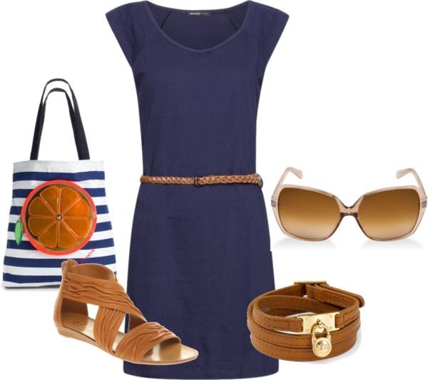 """Sailing style"" - www.stylamoda.blogspot.sk So cute"