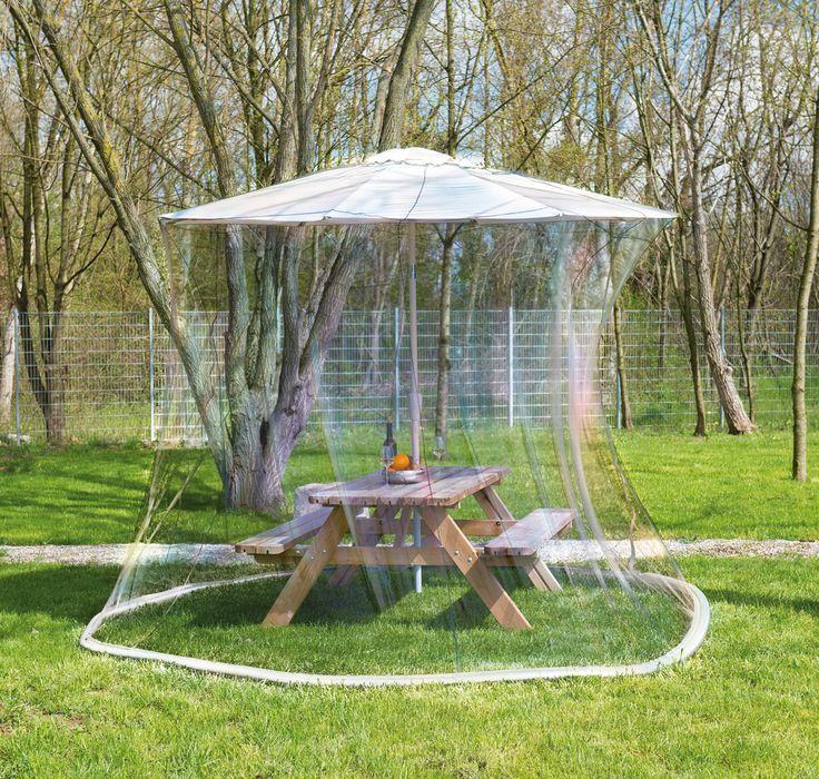Adaptée pour les grands parasols de jardin de plus de 3m de diamètre, cette…