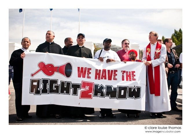 The Right2kNOW Campaign