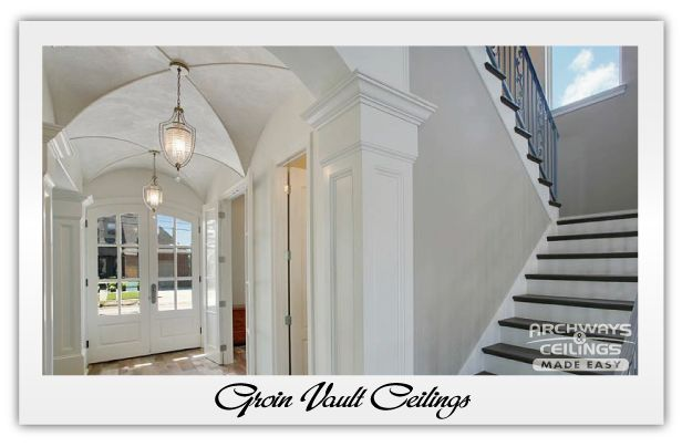 Foyer Ceiling Kits : Best images about groin vault on pinterest travertine