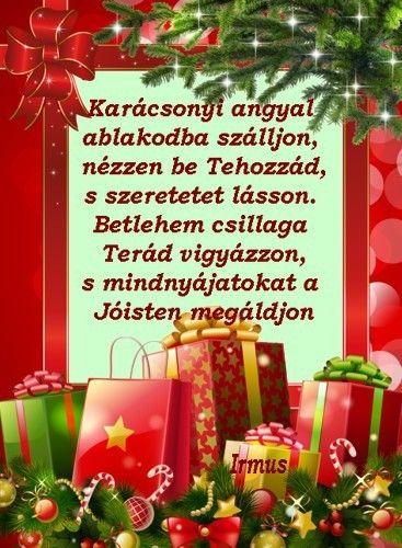 Karácsonyi angyal