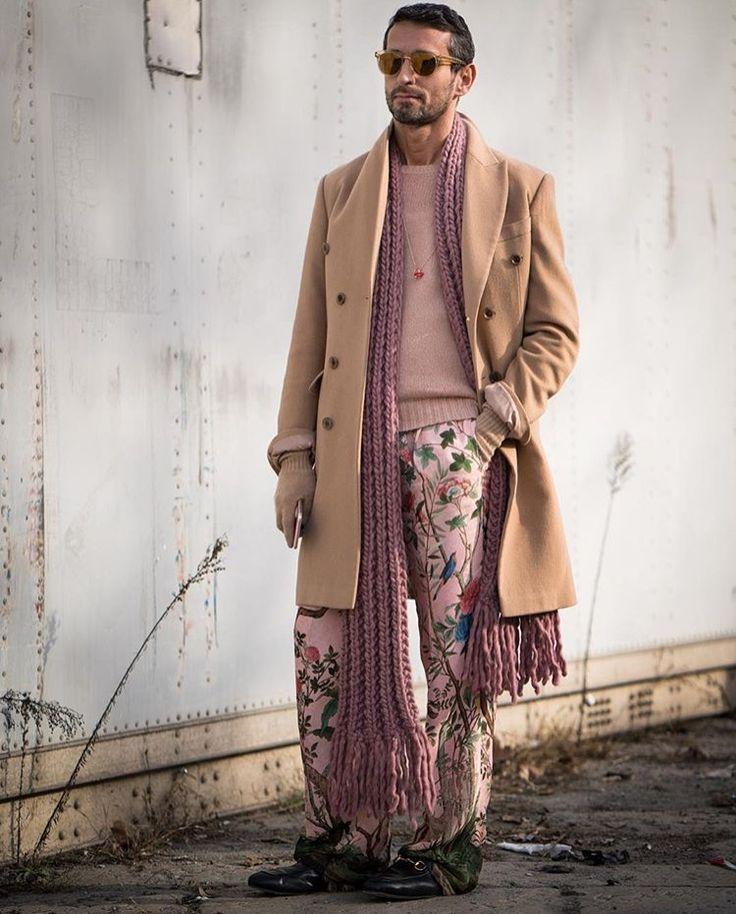 Simone Marchetti wears Gucci at mmfw16