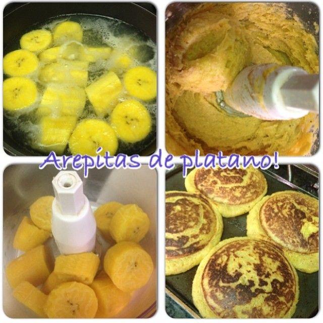 Prepara estas ricasss arepas de plátano para el fin de semana! Toma un plátano entre verde y maduro y lo cocinas ligeramente en agua. Escurres bien y lo agregas a un procesador con 1/4 taza de harina integral de maíz + 1 cucharada de linaza y 1 clara de huevo + canela y endulzante sin calorías al gusto. Queda una masa que puedes agregar al tostiarepa o a una sartén antiadherente con aceite en spray! Salen 4 arepitas que puedes rellenar con pollo, atún, carne o tortilla de huevos!!! Puedes…