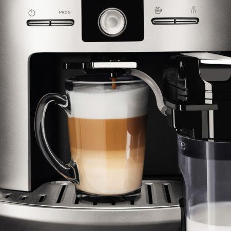 Krups Latt'Espress silver EA829E se dovedeşte a fi un aparat de cafea de calitate foarte bună, capabil să pregătească întotdeauna o băutură proaspătă autentică. Este un espressor de cafea inteligent, ce reuşeşte să se integreze …