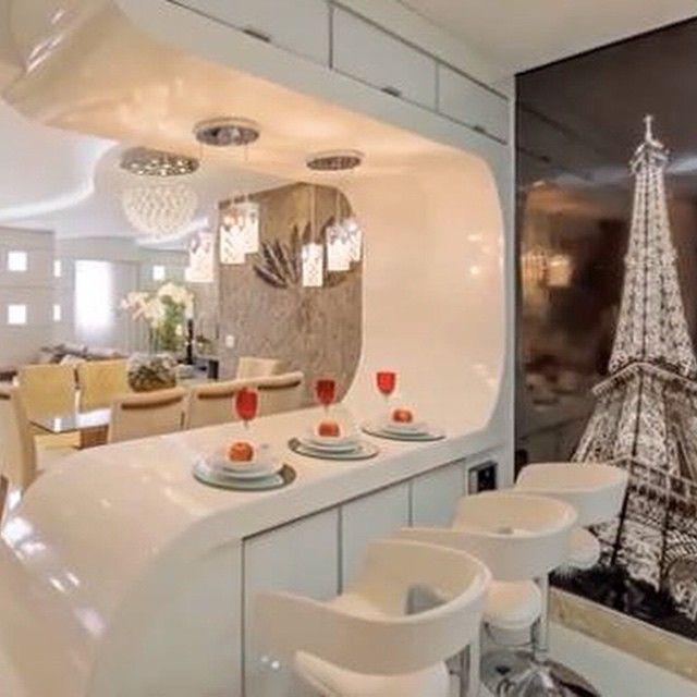 Charming Veja Dicas No Blog!!! Post No Blog #construindominhacasaclean #blog #ape  #apartamento #decor #decoração #cozinha #kitchen #paris #painel #design ...