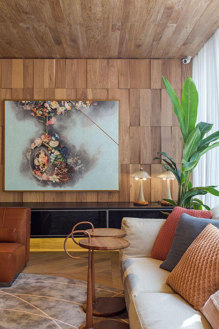 25 melhores ideias de pintura da sala de estar no pinterest for Sala rustica moderna