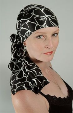 Chemo Caps for Cancer Patients | Hair Loss Hatvideos on how to tie head scarves