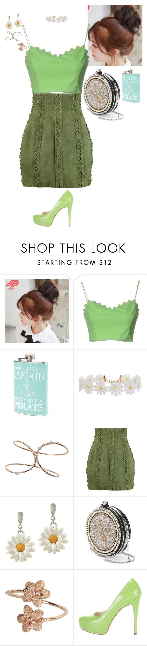 """Fairy Dust - Cocktails by Cody"" by stinze on Polyvore featuring Pin Show, Moschino Cheap & Chic, Humble Chic, Mattia Cielo, Balmain, Alexander McQueen and Brian Atwood"