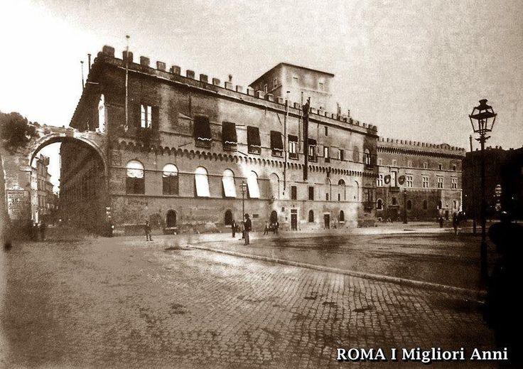 Piazza Venezia 1898