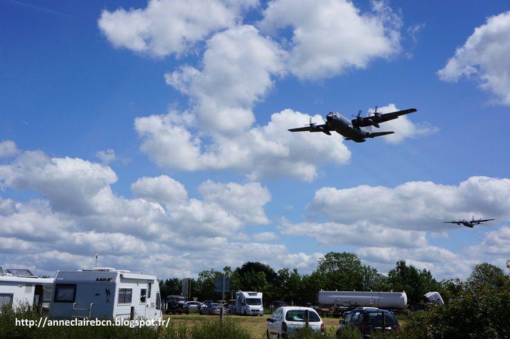 Gros avions de guerre, désormais en promenade en 2014.