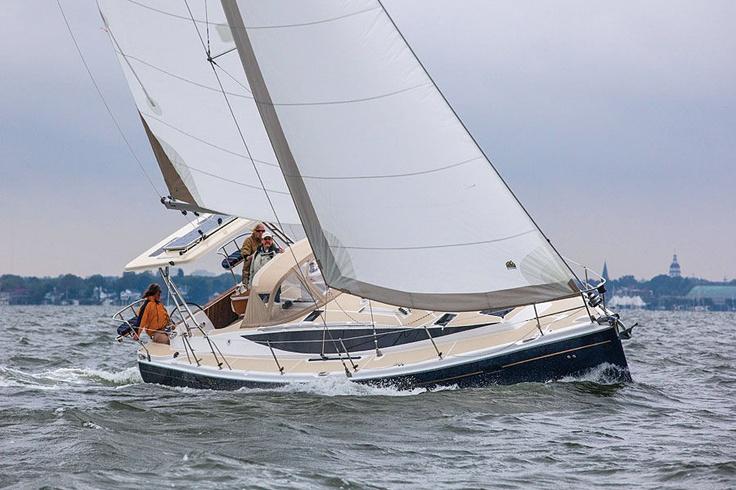 hunter sailboats