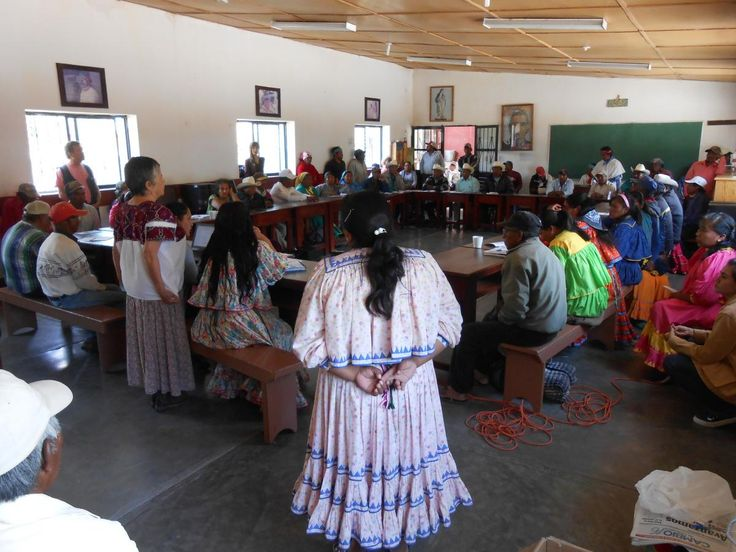 <p>* Se lleva a cabo reunión con autoridades de los pueblos indígenas del municipio de Guachochi para difundir materiales sobre sus derechos.<br