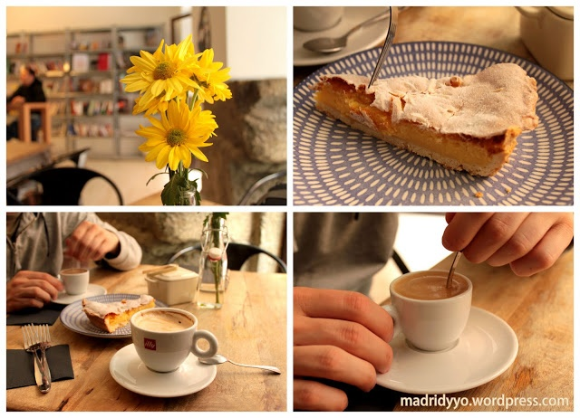 El café Italiana_madrid está en la Corredera Baja de San Pablo, 10. Dueños sardo/catalanes taaaan amables :)