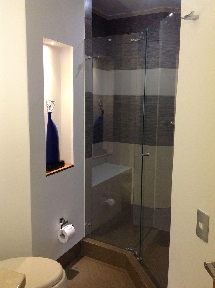 Design by: Elizabeth Arévalo Diseño & Decoración. #baños #bathroom #diseñopropio #decoración #elizabetharevalo #mitrabajo #design #interiordesign #interior_design #homedecor