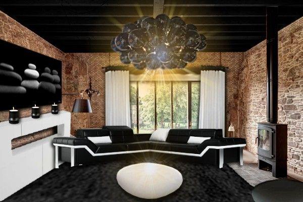 les 25 meilleures id es de la cat gorie rideaux fen tre d 39 angle sur pinterest rideaux d 39 angle. Black Bedroom Furniture Sets. Home Design Ideas