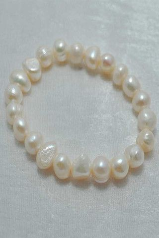 Fresh Water Pearl Cream Bracelet