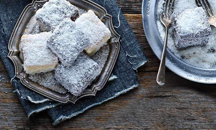 A traditional Aussie favourite! Chocolate Lamingtons