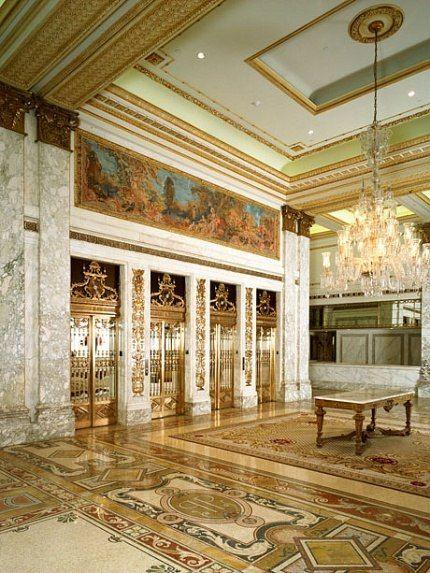 Lobby, Plaza Hotel, NYC