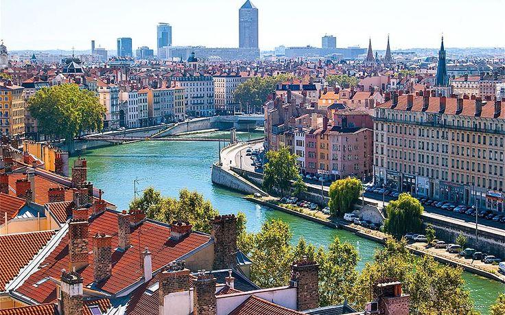 Lyon, France. Vieux Lyon, the largest Renaissance district of Lyon in the 5th arrondissement.
