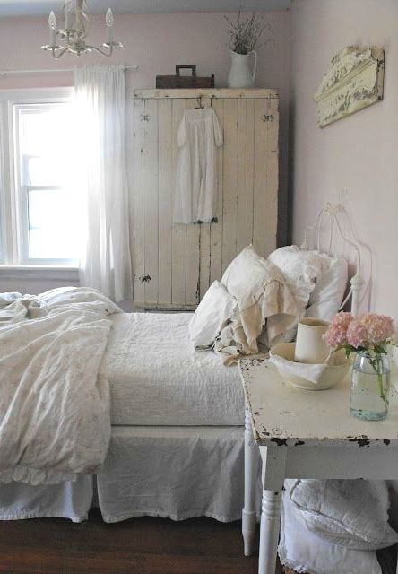 Whites... What can I say? I Love White in Bedrooms... You can add splashes of color to suit your mood or theme.