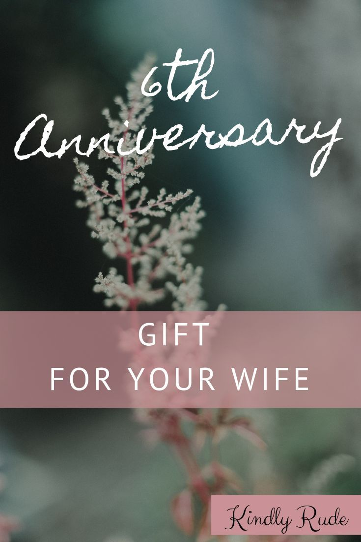 6th Anniversary Gifts For Women 6th Anniversary Gift For Her 6