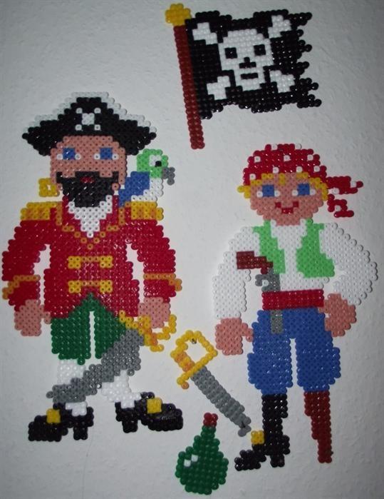 Pirates perler beads by Lena B. -Perler® | Gallery