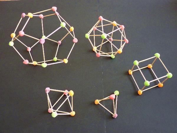 Más gominolas ypoliedros