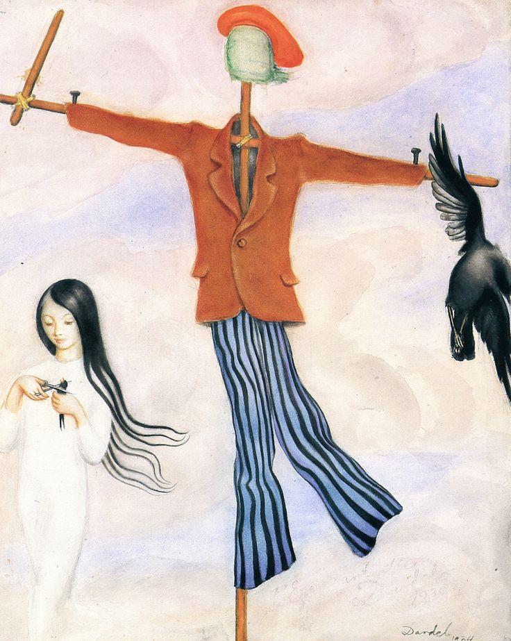 - Scarecrow (Nils Dardel - )