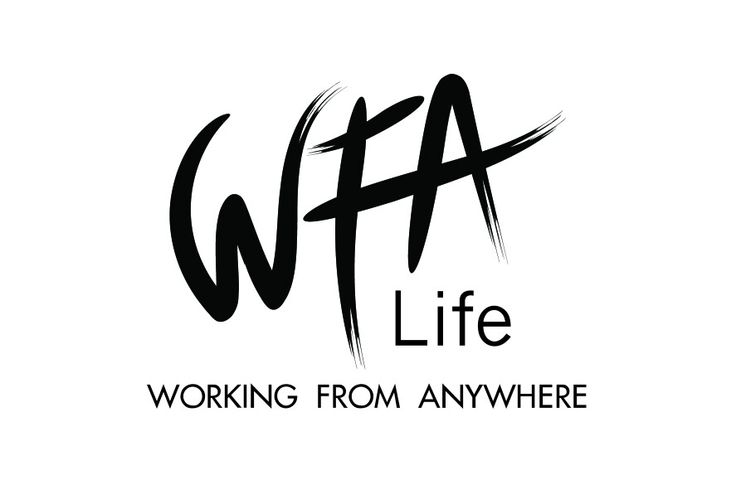 The new Working from Anywhere logo
