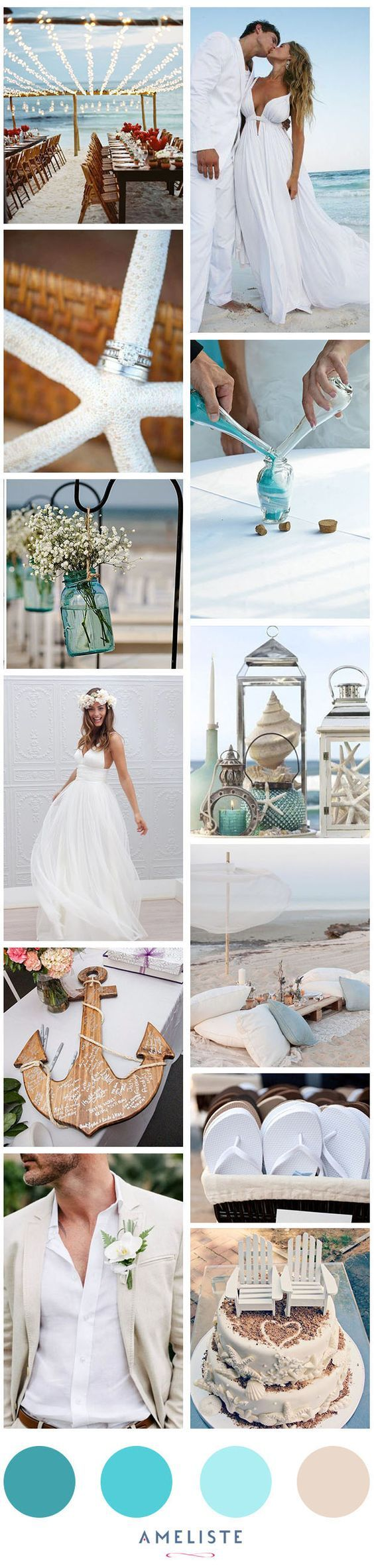 No te pierdas las ideas #innovias para tu boda en la playa https://innovias.wordpress.com/2015/05/18/ideas-innovias-para-una-boda-en-la-playa/