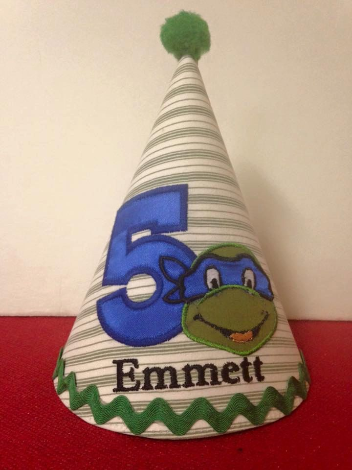 Custom Theme Birthday party Hat by AntoinetteExclusives on Etsy
