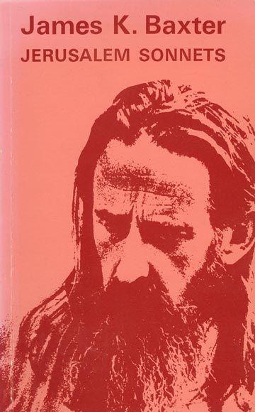 Cover of 'Jerusalem Sonnets' by James K. Baxter, published by Price Milburn Publishers, 1970.