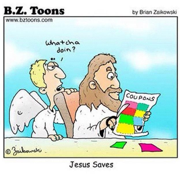 church humor   jesus saves church jokes photo photo ministry picture
