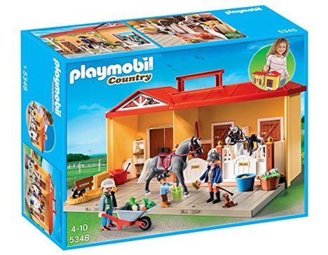 Jouet Playmobil Country 5348 - Ecurie Transportable