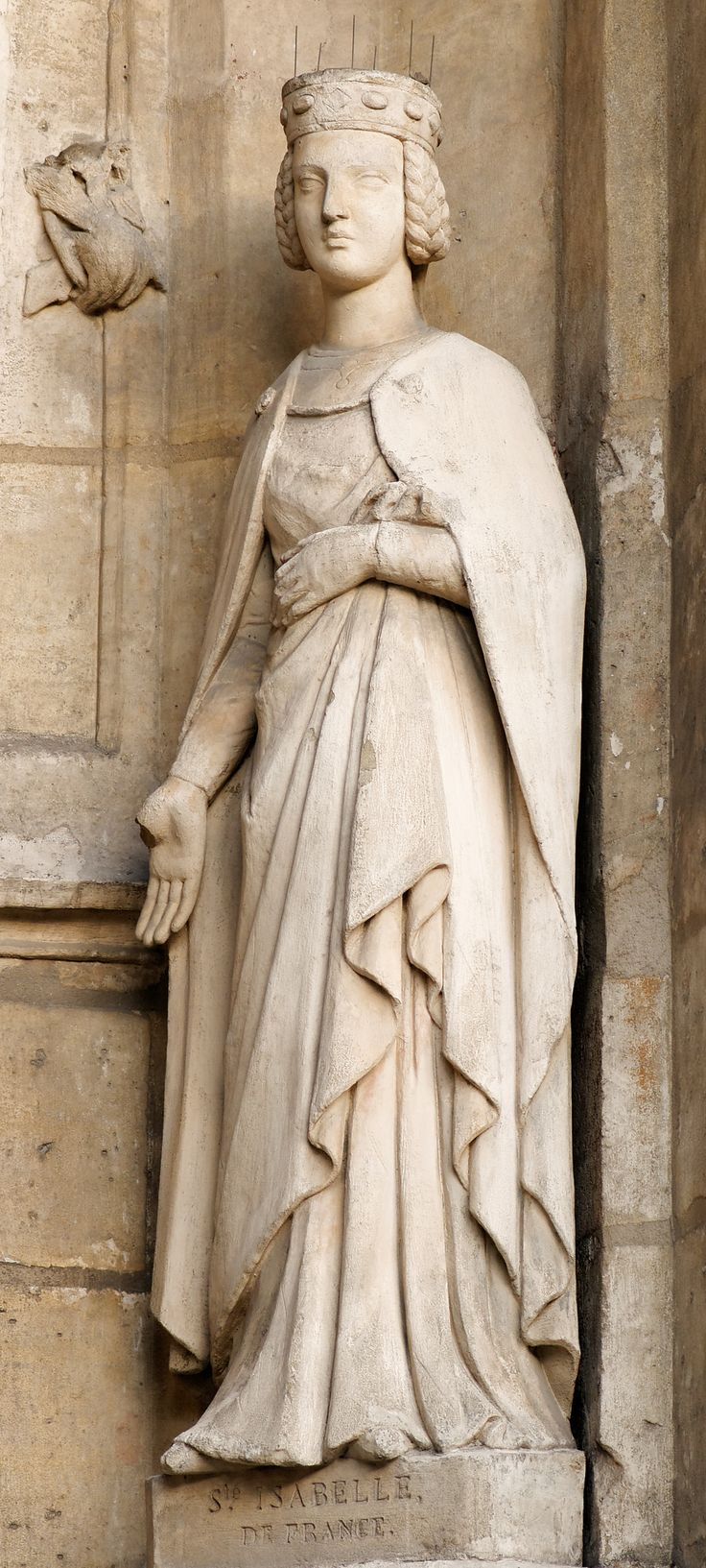 Saint Isabelle of France: daughter of Louis VIII. and younger sister of King Louis IX of France.