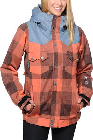 Nikita Mayon Coral 10K Girls Snowboard Jacket 2014 at Zumiez : PDP