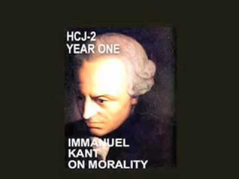 Kant's theory on justice morality. Based on human instincts of knowing what is right and what is wrong.